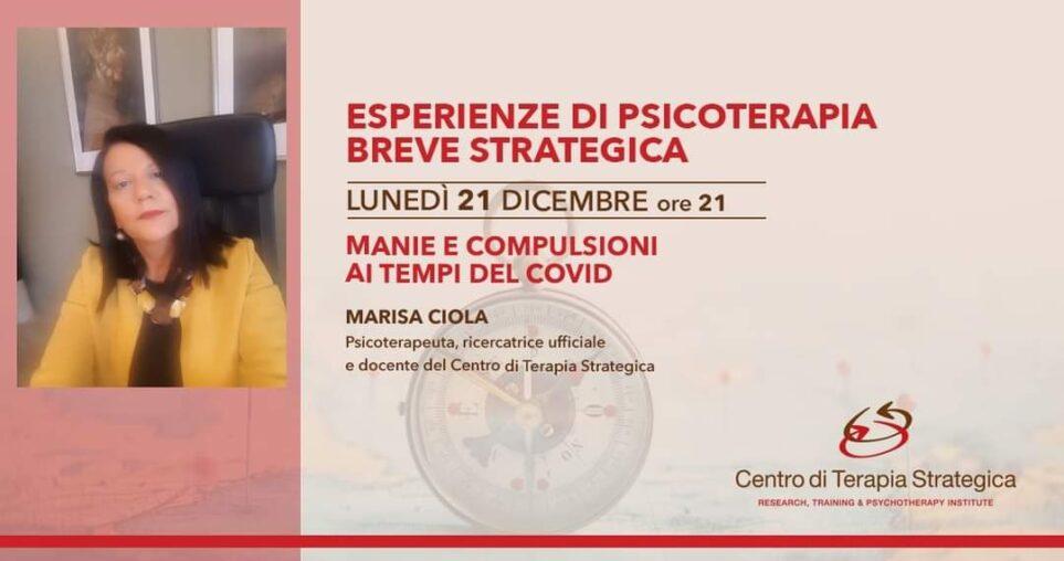 Marisa Ciola Trento evento COVID